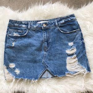 Zara Skirt Size Large